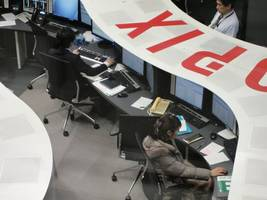 asian shares mostly lower led by losses in hong kong, japan, australia