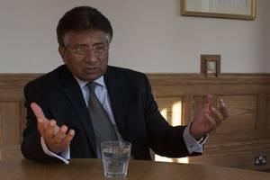 former pakistan leader musharraf slams death sentence a 'personal vendetta'