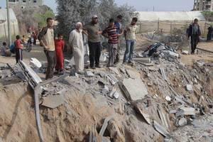 israeli warplanes attack northern gaza strip after rocket fire