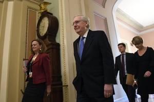 progressives pressure mcconnell to hold fair senate impeachment trial