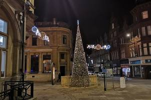 the cost of christmas lights in newport almost doubles since last year