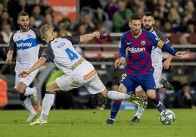 barca end 2019 top of la liga as front three blitz alaves