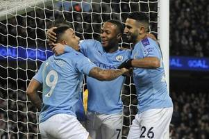 man city beats leicester, shows stomach for epl title fight