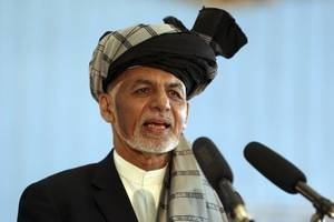 afghan president wins 2nd term in preliminary vote count
