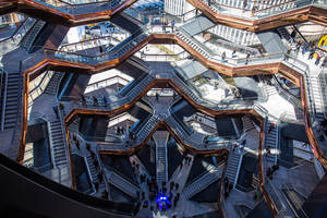 the hudson yards vessel agrees to increase accessibility with 'one-of-a-kind platform lift'