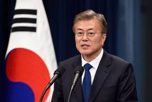 korean president moon jae in heads to chengdu for pyongyang talks