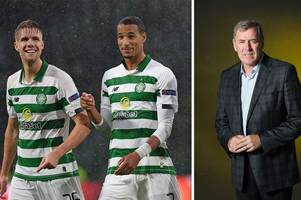 celtic legend pat bonner left proud of trio's reaction on the pitch after hearts win