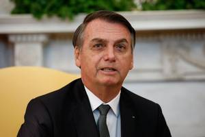 brazil's bolsonaro released from hospital after spending the night