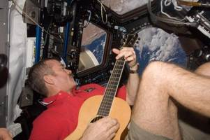 zero-gravity cookies and santa space suits: here's what it's like to spend christmas on the international space station