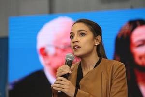 aoc says 'it would be an honour' to be vice president for bernie sanders