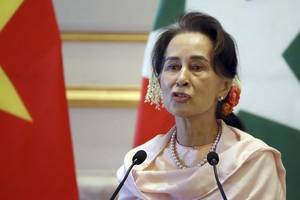 aung san suu kyi party official killed in myanmar's rakhine