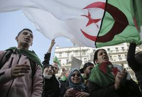 algeria sees business as usual despite weeks of protests