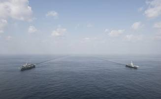 russia, china, iran start joint naval drills in indian ocean