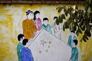 with uighur comic, japanese manga artist aims to highlight everday 'suffering'