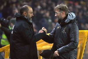'a couple of things' - jurgen klopp drops liverpool selection hint for wolves game