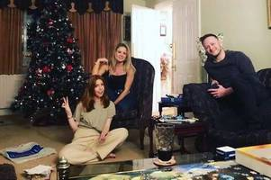 how strictly's kevin clifton celebrated christmas in grimsby with stacey dooley