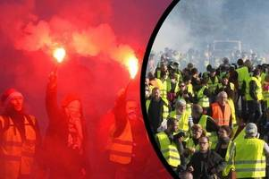 'time to fight back' - when 'robbed' yellow-vest protests marched on somerset