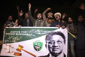 musharraf challenges special court's verdict in high treason case