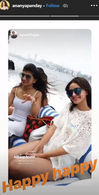 ananya panday's mini vacation with friends is all rainbows and unicorns