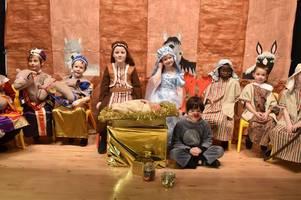 a festive treat at auchinraith primary school's nativity