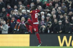 controversial mane goal gets liverpool past wolves