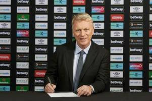 david moyes' first words after signing deal to replace manuel pellegrini as west ham manager