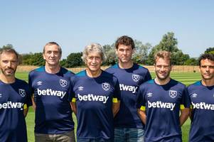 west ham ditch all of manuel pellegrini's staff following david moyes appointment