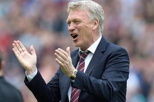 west ham's potential lineup against bournemouth for david moyes' return game