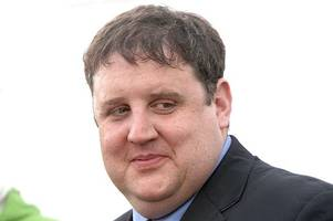 comedian peter kay pictured for first time in nearly a year after slamming channel 5 documentary