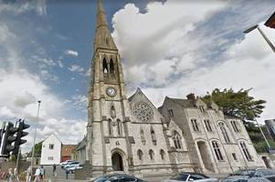 someone stole a gloucester church's money box on boxing day after searching through the nativity scene
