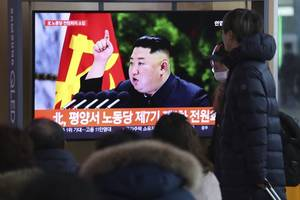 north korea's leader goes on the offensive before key speech