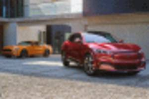30 percent of mustang mach-e first edition buyers opt for gt range-topper