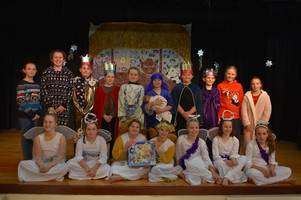 nativity time at ockbrook school