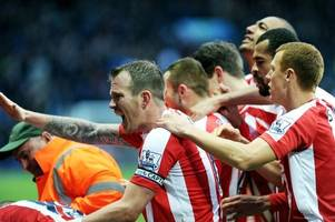 stoke city's rollercoaster decade in photos from kiev to wembley: part one - the glory years