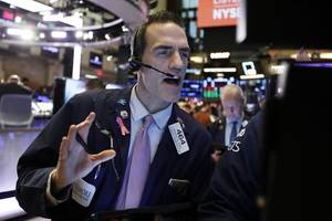 stocks move lower to start a holiday-shortened week