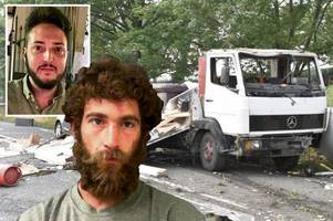 drink drive maniac crushed man to death in music festival convoy of carnage