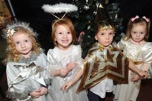 harleeshill nursery's traditional nativity was a huge hit