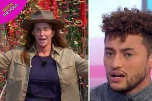 myles stephenson reveals caitlyn jenner's real reaction to kardashians' i'm a celebrity snub
