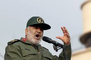 iran not heading to war but not afraid of conflict - military commander