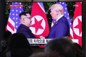 trump's confidence over north korea and iran relations is proving naive