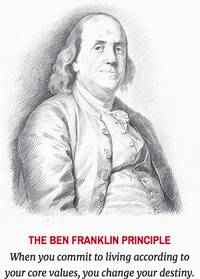 ceo urges living ben franklin principle for new year