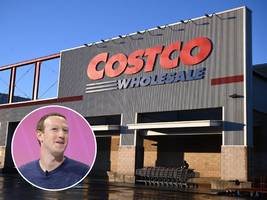 facebook ceo mark zuckerberg is just like us: he shops for bargain deals at costco.