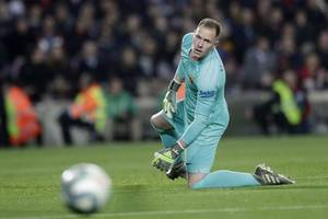 valverde set to give ter stegen extended break to recover from tendon problems