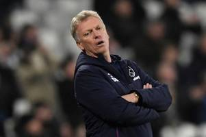 west ham boss david moyes told to focus on signing four players in transfer window