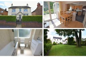immaculate three bedroom house in stockton brook has a large private garden