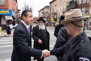 following anti-semitic attacks, cuomo and other democrats weigh changes to new bail laws