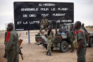 five mali soldiers killed by roadside bomb ambush