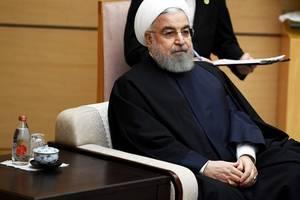rouhani dismisses trump's threat, mentions us crimes against iranian civilians