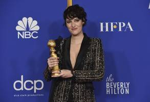 russell crowe, phoebe waller-bridge win golden globes for tv