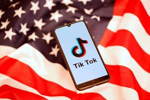 tiktok accounts posing as politicians like trump and bernie sanders keep cropping up, and it's another symptom of the app's ongoing struggle to police itself